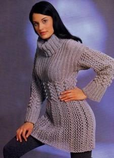 узорчатое мини платье