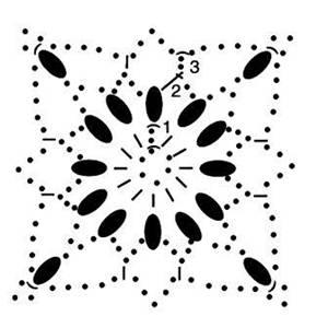 вязаное пончо крючком схема