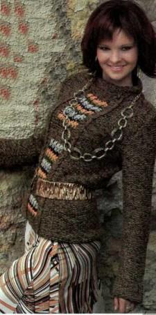вязаный пулове
