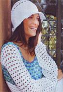 Пуловер и шляпка
