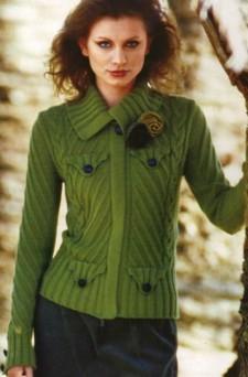Жакет с ложными карманами