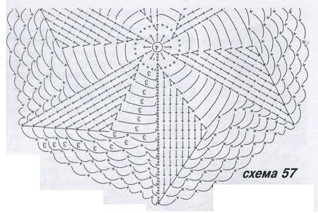 Вязаный берет схема вязания