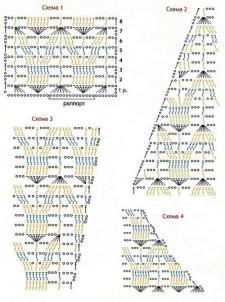 вязаный свитер схема вязания
