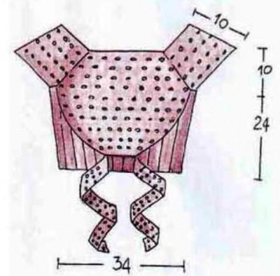 Топ на завязках вязание спицами выкройка