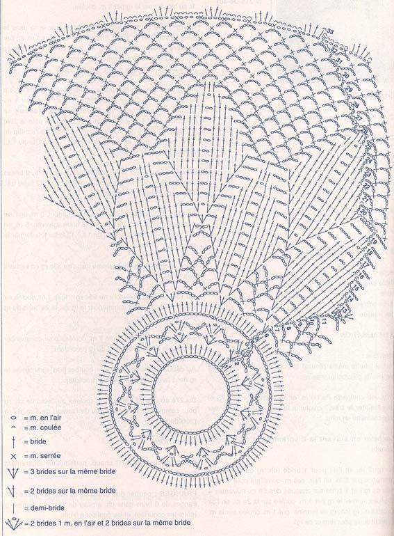 Вязаны абажур схема