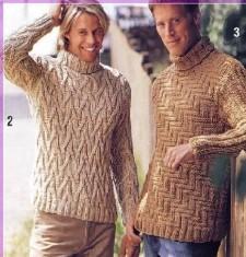 пуловер для мужчины