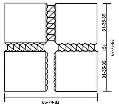 Вязаное болеро. Схема вязания крючком бесплатно выкройка