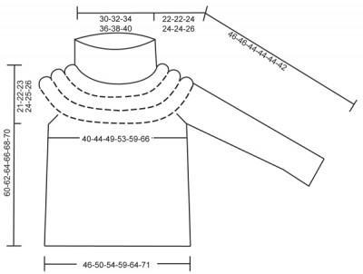 свитер из толстой пряжи выкройка вязания