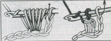петля крючком