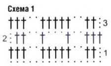 Жилет-пончо вязание крючком схема вязания