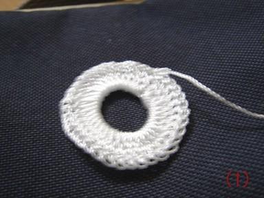 Колечки вязаные крючком