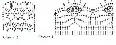 Платье желтого цвета вязаное крючком схема