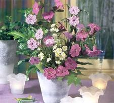 цветы вязаные крючком