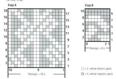 джемпер вязание спицами схема вязания