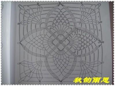схема вязаного мотива
