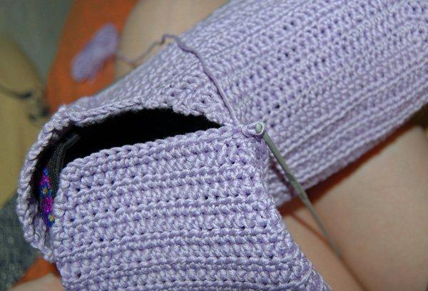 угги сшивание