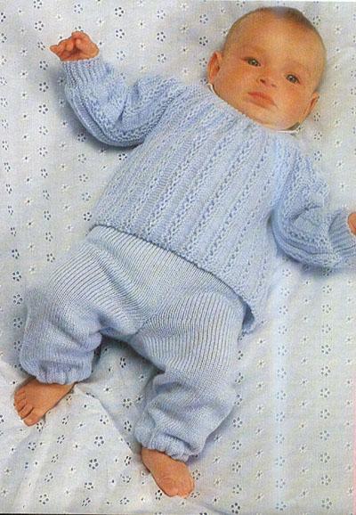новорожденному штанишки