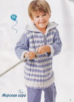 Вязание мальчикам пуловера