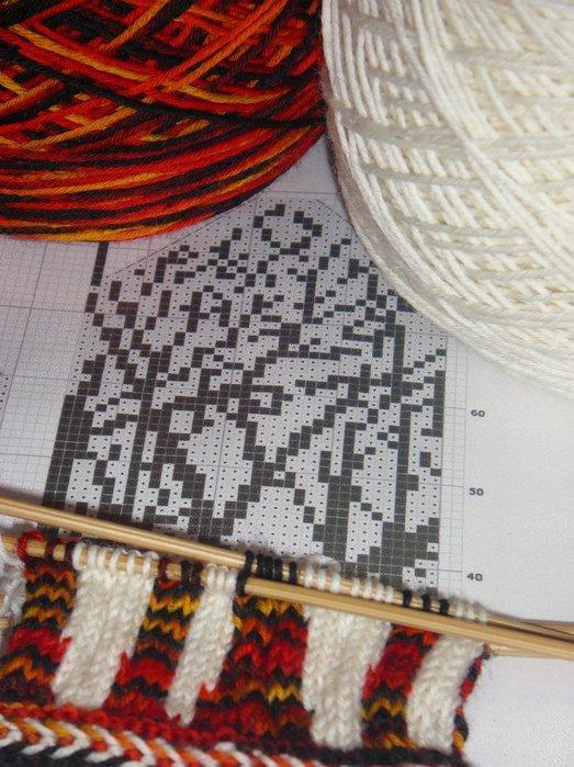 Варежки и митенки вязание спицами