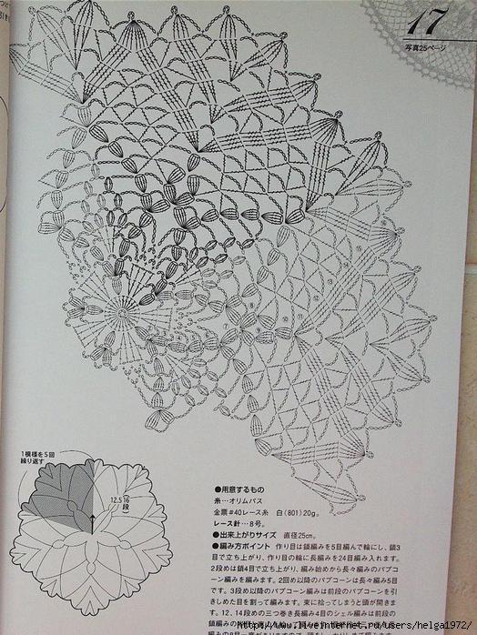 оригинальное вязание схема