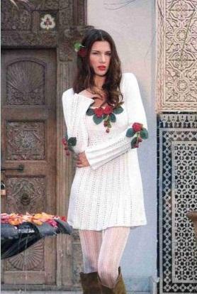 вяжем платье