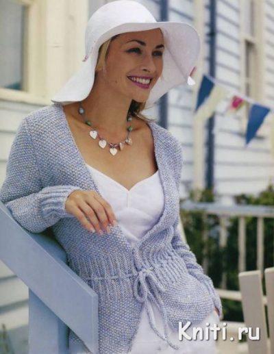 Жакет Sandstone из Rowan Classic