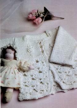 вязание крючком малышу