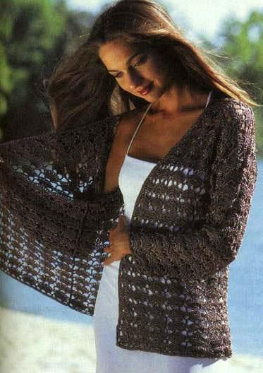вязание жакета