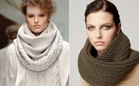 Вязана мода шарфики