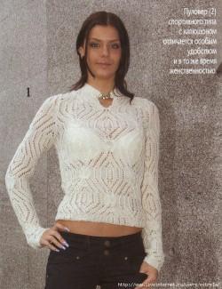Модель вязание спицами