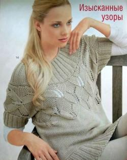 Вязать пуловер