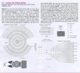 Описание вязания сарафана