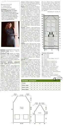 мини платье описание вязания