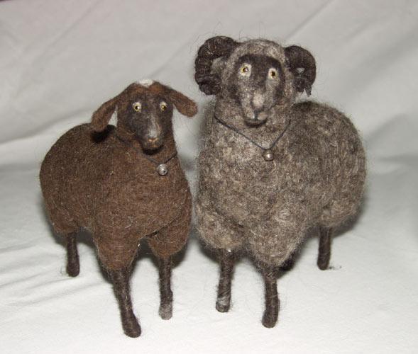 Баран и овца