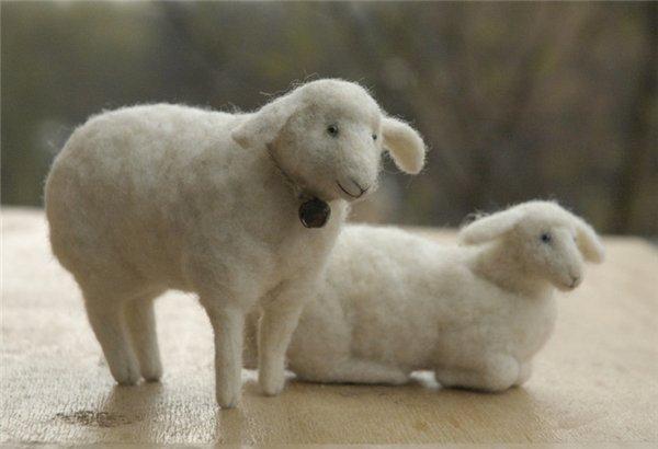 Барашек и овечка