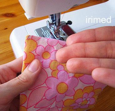 Как сделать аккуратные уголки при пошиве?