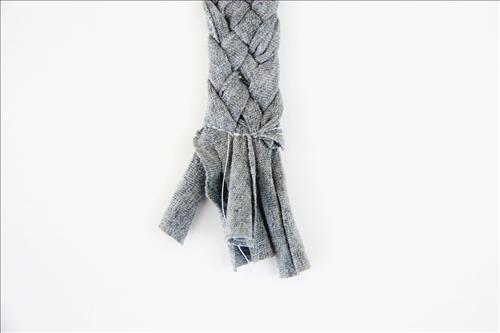 Простой ободок своими руками из ткани