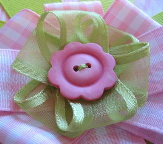 цветы из ткани изготовление