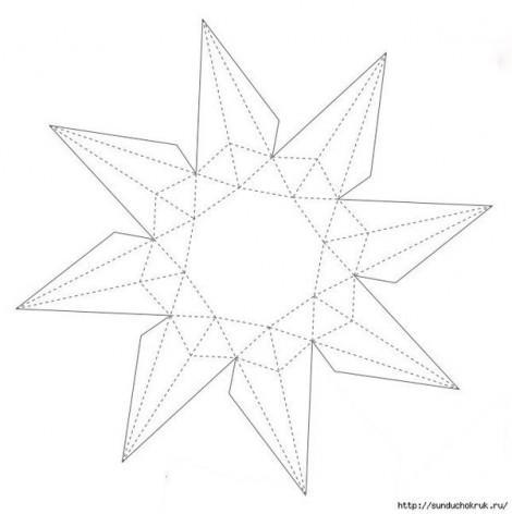 оригами бриллиант