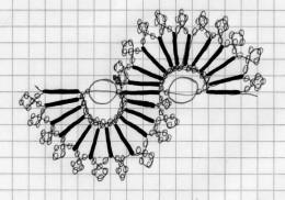 схема бисера