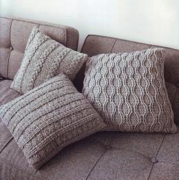 Чехол для подушки с ракушками