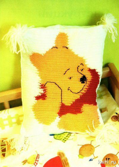 Подушка Винни - Пух