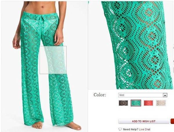 Вязаные брюки идея