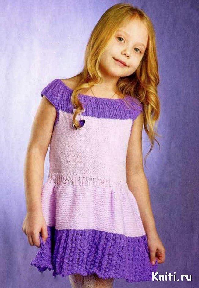 Платье девочек 4-5 лет