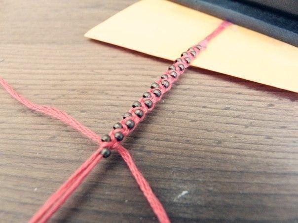 Мастер-класс плетения фенечки