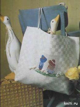 сумка вышивка крестиком