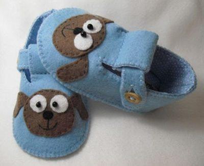 Шьем пинетки - туфельки