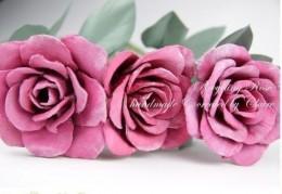 роза из яичного лотка