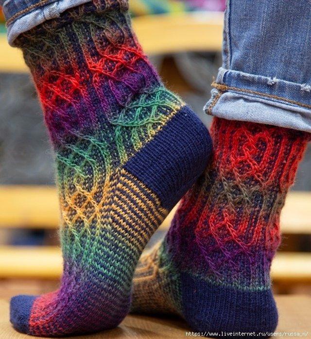 носки цветные