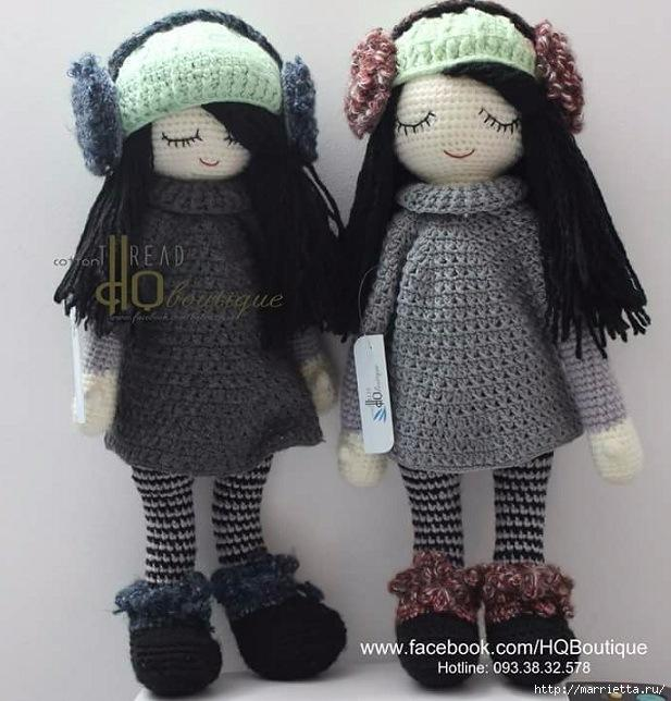 Куколки амигуруми. Зимние девочки (1) (617x644, 221Kb)